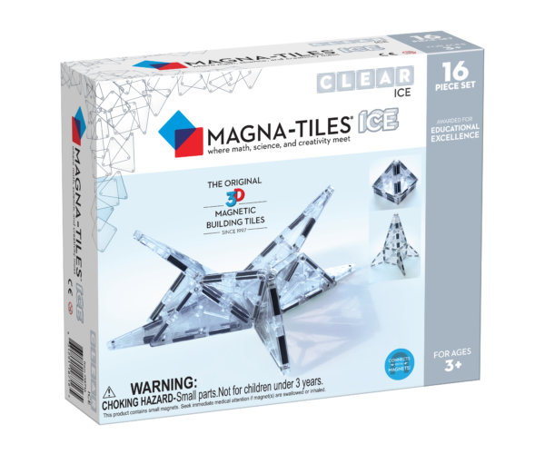 Front Of Magna-Tiles® ICE 16-Piece Set Box